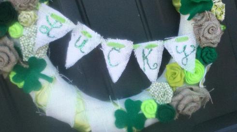 St.Patricks Day Wreat