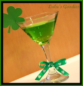 Shake your Shamrocks Cocktail